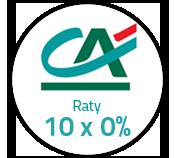 Sposób na udane zakupy - raty 10 x 0%