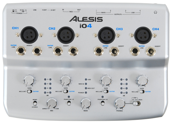 Alesis iO4 interfejs audio USB