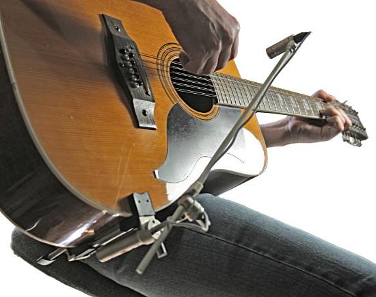 Nagrywanie gitar akustycznych