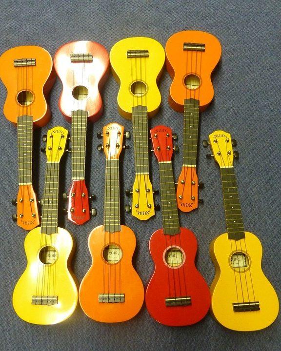 Rodzaje ukulele