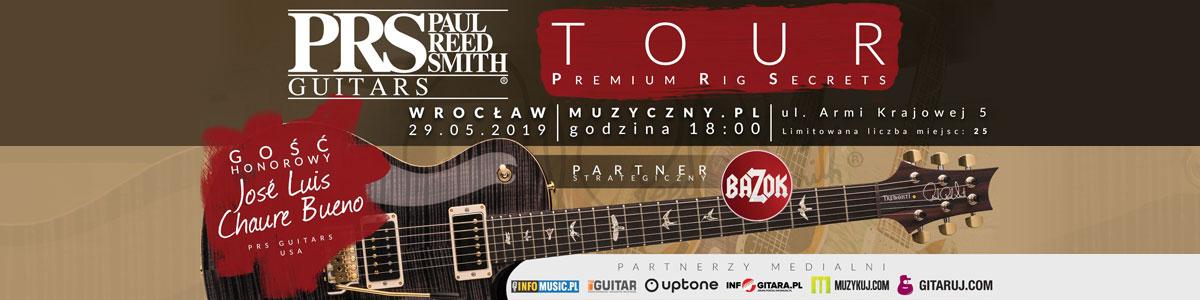 PRS Premium Rig Secrets Tour w Muzyczny.pl!