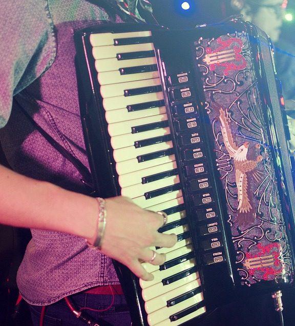 Komfort gry na akordeonie