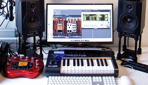Studio w komputerze