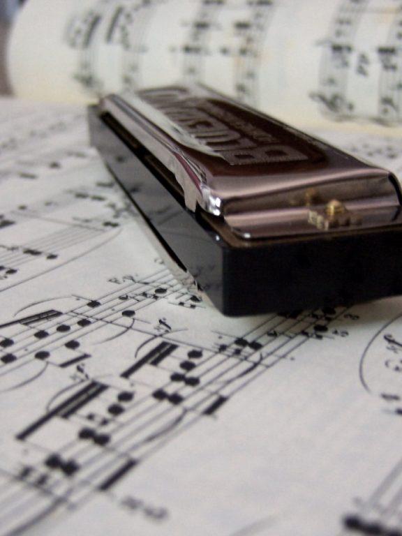 Muzyczna przygoda z harmonijką ustną. Akordy i proste melodie.