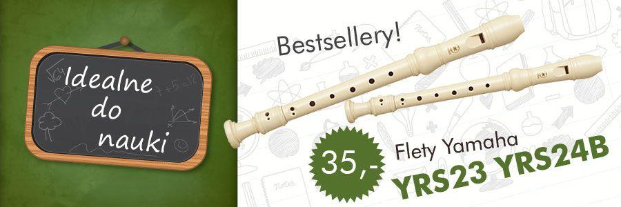 Flet prosty Yamaha - idealne do nauki