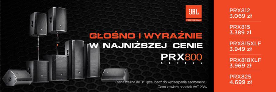 Promocja wybrane produkty z oferty JBL Pro seria PRX800