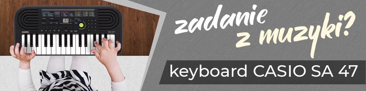 CASIO SA 47 keyboard