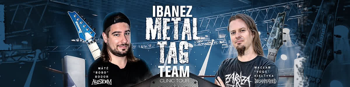 Ibanez Metal Tag Team Championship - Clinic Tour