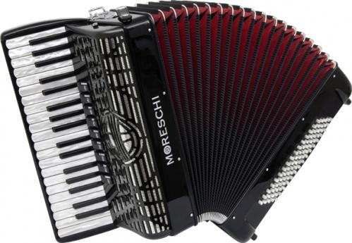 Moreschi Agile 37/96-F  37/4/9  96/5/5 Musette akordeon (czarny)