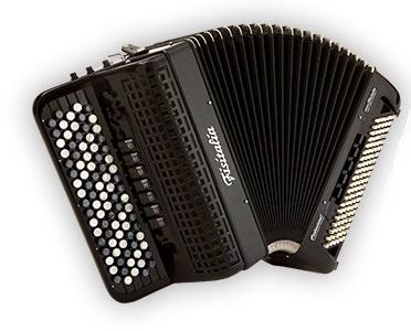 Fisitalia 52.34-FB  52(87)/3/7+3C  120(49)/4(2)/6  akordeon guzikowy z konwertorem (czarny)