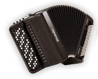 Fisitalia 52.46-FB  52(87)/4/13+4C  120(49)/6(2)/6  akordeon guzikowy z konwertorem (czarny)