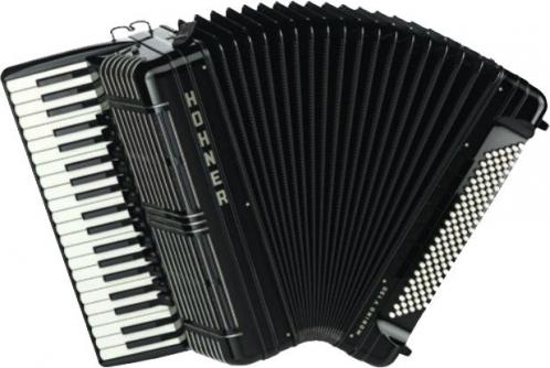 Hohner Morino+ V 120 akordeon (czarny)