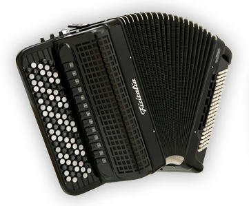Fisitalia 58.44-FB  58(87)/4/15+4C  120(58)/6(2)/6  akordeon guzikowy z konwertorem (czarny)