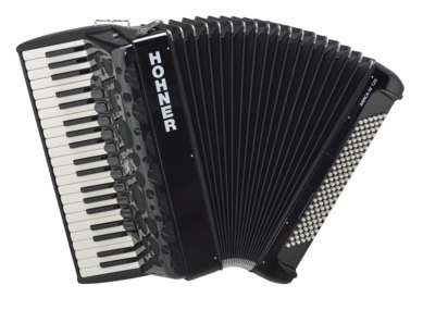 Hohner Amica IV 120  akordeon (czarny)