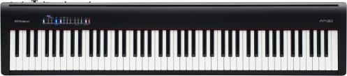 Roland FP-30 BK pianino cyfrowe (kolor: czarny)