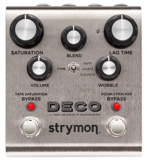 Strymon Deco tape saturation & doubletracker efekt do gitary elektrycznej