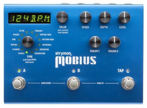 Strymon Mobius modulator efekt do gitary elektrycznej