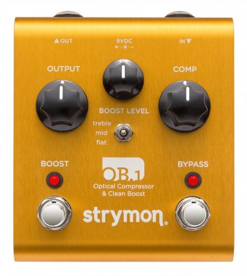 Strymon OB1 compressor & boost efekt do gitary elektrycznej