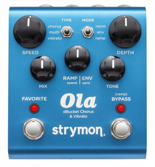 Strymon OLA dBucket chorus vibrato efekt do gitary elektrycznej