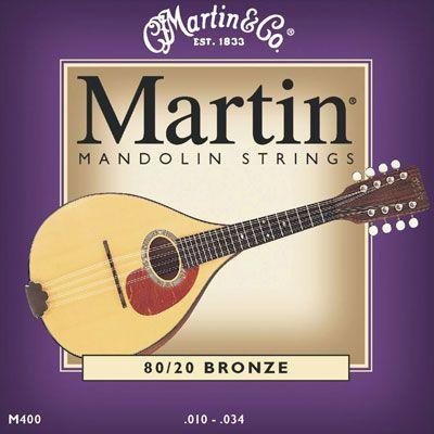 Martin M400 struny do mandoliny
