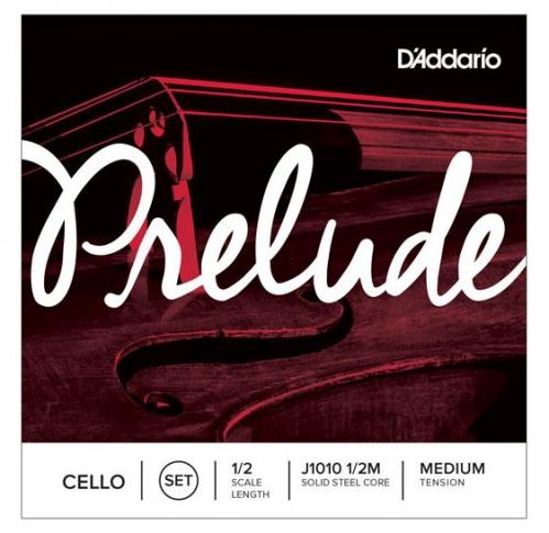 D'Addario Prelude J-1010 struny wiolonczelowe 1/2 - komplet
