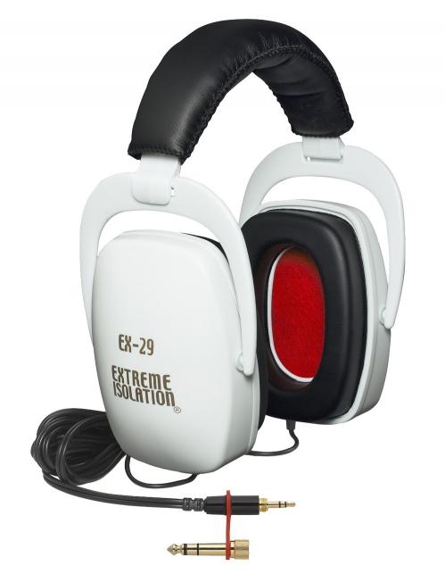 Extreme Isolation (32 Ohm) EX-29W słuchawki zamknięte, kolor biały