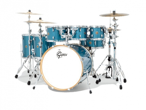 Gretsch CM-E825PT-AS Catalina Maple zestaw perkusyjny (kolor: Aqua Sparkle)