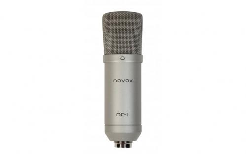Novox NC-1 mikrofon studyjny USB, srebrny