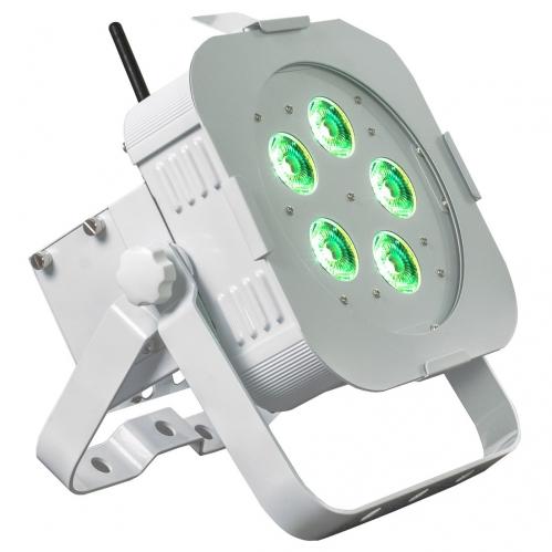 American DJ WiFly PAR QA5 WH - reflektor LED czarny płaski 5 x 5W
