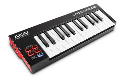 AKAI LPK 25 Wireless  klawiatura sterująca USB/MIDI