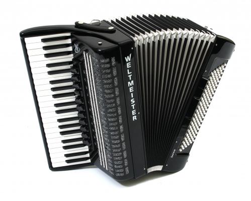 Weltmeister Saphir 41/120/IV/11/5 Piccolo akordeon (w�oskie stroiki), czarny