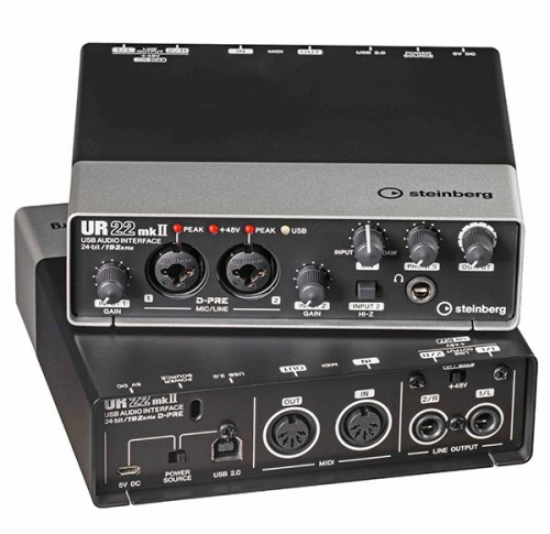 Steinberg UR 22 Mk2 interface