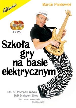 """AN Pendowski Marcin """"Szkoła gry na basie elektrycznym"""" 2 xDVD"""