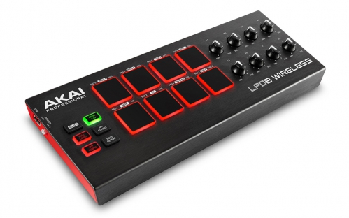AKAI LPD 8 Wireless mini kontroler MIDI / USB