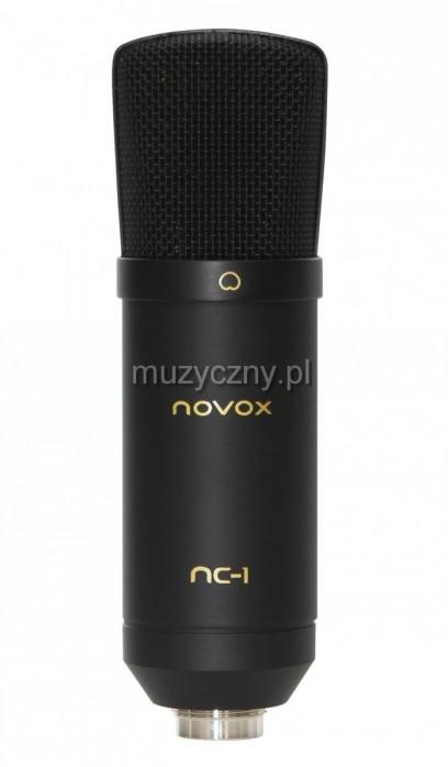 Novox NC-1 mikrofon studyjny USB, czarny