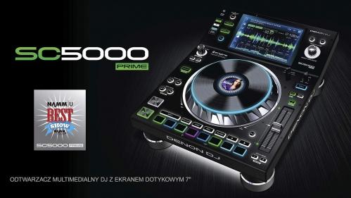 Denon DJ SC5000 PRIME- odtwarzacz DJ
