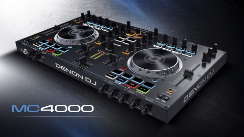 Denon DJ MC4000 kontroler USB MIDI / Audio