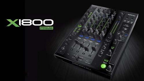 Denon DJ X1800  PRIME cyfrowy 4-kanałowy DJ mikser