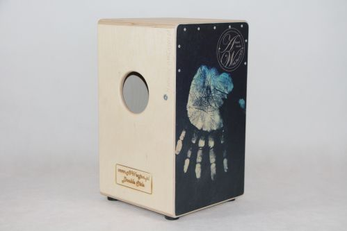 AW Cajon SP10B25DB Hand Print Cajon instrument perkusyjny