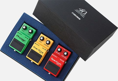 BOSS Box Set 40th Anniversary zestaw efektów do gitary