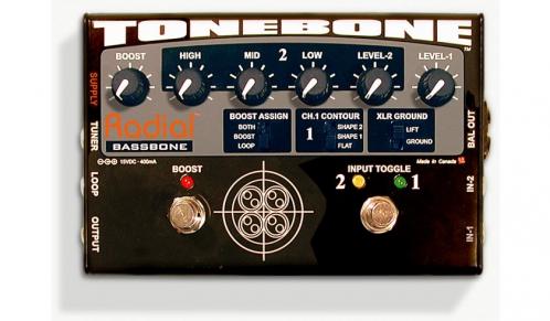 Radial Tonebone Bassbone OD preamp do gitary basowej - WYPRZEDAŻ