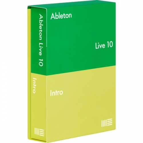 Ableton Live 10 Intro program komputerowy (BOX)
