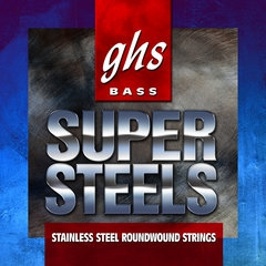 GHS Super Steels struny do gitary basowej, 4-str. Custom Medium Light, .045-.105