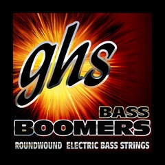 GHS Bass Boomers struny do gitary basowej 5-str. Medium, .030-.100, High C