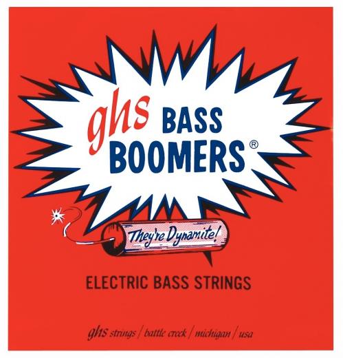 GHS Bass Boomers struny do gitary basowej 4-str. Regular, .045-.095, Short Scale
