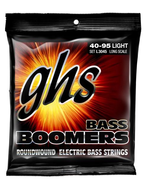 GHS Bass Boomers struny do gitary basowej 4-str. Light, .040-.095