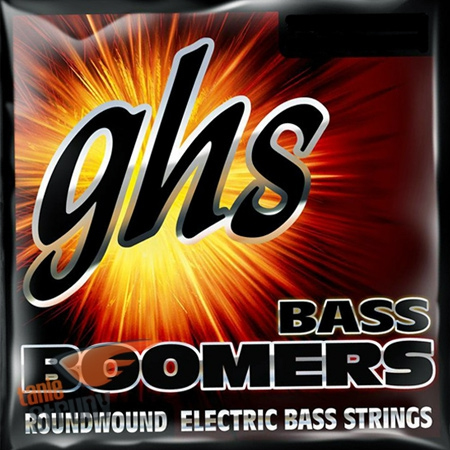 GHS Bass Boomers struny do gitary basowej 6-str. Medium Light , .030-.126