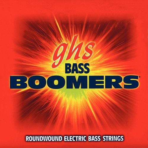 GHS Bass Boomers struny do gitary basowej 8-str. Regular, .018-.105, Medium Scale
