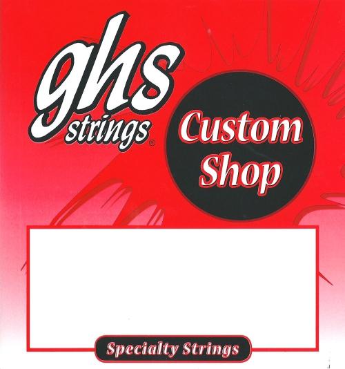 GHS Precision Flatwound struny do gitary basowej, 5-str. Medium, .045-.126