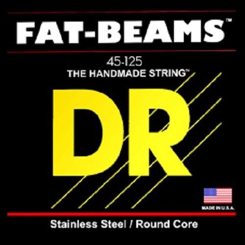 DR FAT BEAMS - struny do gitary basowej, 4-String, Medium, .045-.105